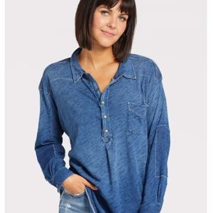 Free People We The Free Love This Henley